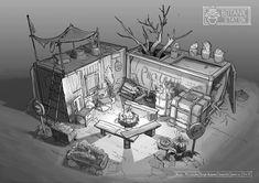 Fallout 4 Settlement Ideas, Environment Sketch, Bus Art, Systems Art, Post Apocalyptic Art, Zombie Apocalypse Survival, Perspective Art, Sims, Prop Design