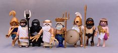 PLAYMOBIL CUSTOM GREEK GODS Greek Mythology Gods, Greek Gods, Gods And Goddesses, Roman History, You're Awesome, Ancient Greece, The Hobbit, Romans, Mickey Mouse