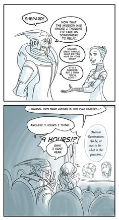Witzige Mass Effect Fanart/Comics