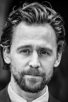 Tom Hiddleston - digging the face fluff