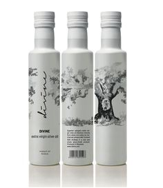Divine Extra Virgin Olive Oil on Packaging of the World - Creative Package Design Gallery