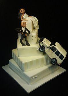 creative cake art wedding cakes 4WD CAKE 850120 by www.creativecakeart.com.au, via Flickr