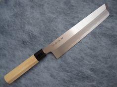 青鋼本霞鱧(はも)骨切包丁尺寸(300mm)
