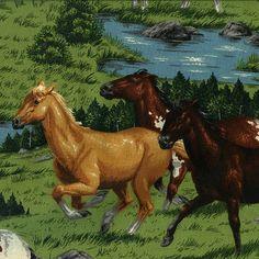 V.I.P. koně - vše pro patchwork - Bargello
