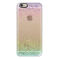 iPhone 6 Plus/6/5/5s/5c Case - Colorful Ombre Sparkly Glitter Burst ($40) ❤ liked on Polyvore featuring accessories, tech accessories, phones, phone cases, iphone case, apple iphone cases, sparkly iphone cases, glitter iphone case and iphone cover case