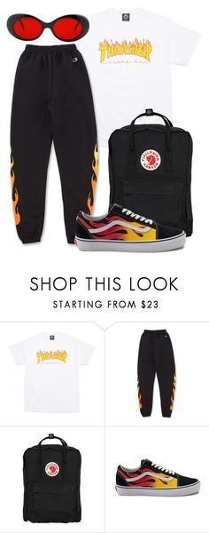 """""""Untitled #1273"""" by nneomaswag ❤ liked on Polyvore featuring Fjällräven and Vans"""