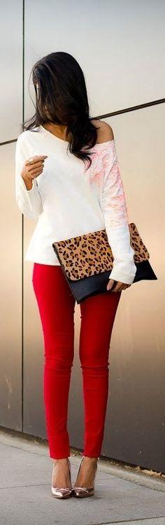 Red Leopard. ❤️ | Gloss Fashionista