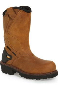 ARIAT 'Powerline H2O' Waterproof Insulated Comp Toe Work Boot (Men). #ariat #shoes #boots