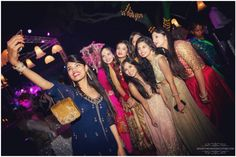 Photographer - Girls Taking Selfie Photos, Hindu Culture, Black Color, Candid Clicks, Sangeet Outfit, Group Photography pictures.