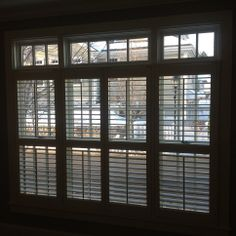 Find beauty and privacy with this indoor shutter treatment. Don't forget your windows during your next interior design project! Shutters let in beautiful natural light, while offering privacy, perfect for your living room or kitchen. This was a project we completed for a great family in Stratham, NH Not only are they great in residential areas, but they would work perfectly in an office or commercial setting as well!