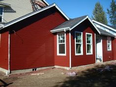 Benjamin Moore Cottage Red