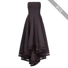 Rental allison parris Dark Charm Gown