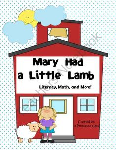 Storytelling Pieces For Mary Had A Little Lamb
