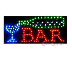led sign food signs | Bar LED Sign