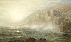 William Trost Richards Castle on the Cornish Coast, 1886