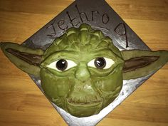 Yoda! This took me ages but I rewarded myself with a G&T afterwards!