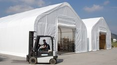 Economical and durable storage tents ✓ Cost reduction by self assembly ✓ Industry quality for sustainable use ✓ Free construction drawings and structural calculations 40ft Container, Pvc Fabric, Construction Drawings, Installation Manual, Building Systems, Built In Storage, Galvanized Steel, Storage Solutions, This Is Us