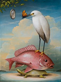 Checking the Weather by Kevin Sloan