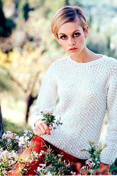 vintagegal: Twiggy c. 1960s
