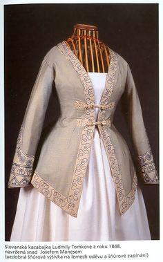 Marmota Kleid Diaries: Ein Ostern-Geschenk für Sie: Kostenlose Muster für eine 1848-Jacke aka kacabajka und sewalong