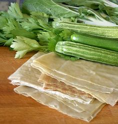 Celery, Zucchini, Vegetables, Tableware, Diy, Food, House, Homes, Knots