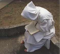 Silence always - Carthusian monk