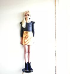 Apron, Dresses, Fashion, Vestidos, Moda, Fashion Styles, Pinafore Apron, Dress, Dressers