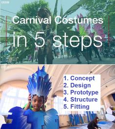 Clary Salandy's guide to costume-making for Notting Hill Carnival