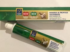 Мои покупки и отзывы на iHerb.com: Зубная паста с мёдом манука и прополисом