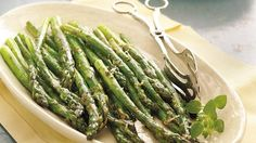 Roasted Parmasan Asparagus...I could eat the whole recipe by myself in one sitting!!!