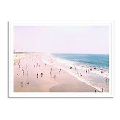 Carlos Pereira Santa Monica Beach Photographs (€230) ❤ liked on Polyvore featuring home, home decor, wall art, backgrounds, filler, minimalist home decor, white wall art, photo wall art, white framed wall art and white home decor