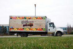 Mobile Wraps | Truck Wraps - Bondi Produce