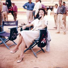 American actress Ava Gardner on the set of the film 'The Sun Also Rises', The chair next to her belongs to co-star Mel Ferrer. Get premium, high resolution news photos at Getty Images Hollywood Icons, Classic Hollywood, Hollywood Glamour, Ava Gardner Photos, Night Of The Iguana, The Sun Also Rises, Beach Poses, We Movie, Famous Women