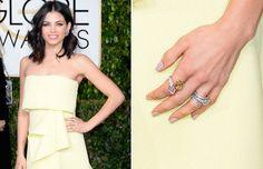 18 - 2015 - Celebridades que brillan: las joyas de los Globos de Oro - JENNA DEWAN Escogió unas estilosas piezas de joyería de Lorraine Schwartz.