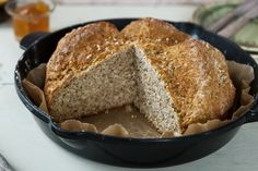 Traditional Brown Bread by Odlums Odlums Recipes, Irish Recipes, Bread Recipes, Baking Recipes, Recipies, Irish Brown Bread, Brown Bread Recipe, Sugar Free Vegan, Bread Oven