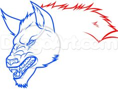 """I know it doesn't seem like it, but this is a lesson on """"how to draw a werewolf easy"""". This drawing took me about thirty minutes to d Sketches Easy, Animal Art, Werewolf Drawing, Guided Drawing, Drawings, Art, Humanoid Sketch, Dawn"""