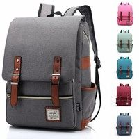 Geek | Men Women Vintage Casual Canvas Backpack