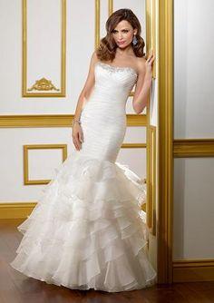 96bd607aeaa In Stock Mori Lee 1808 Wedding Dress Sz 16   Elegance by Carbonneau 508-595