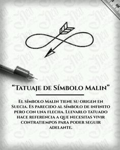 Significado tatuaje símbolo Malin - Marine And Land Vehicles Simbolos Tattoo, Tattoos 3d, Mini Tattoos, Body Art Tattoos, Small Tattoos, Tatoos, Tattoo Com Significado, Infinity Tattoos, Infinity Tattoo Designs