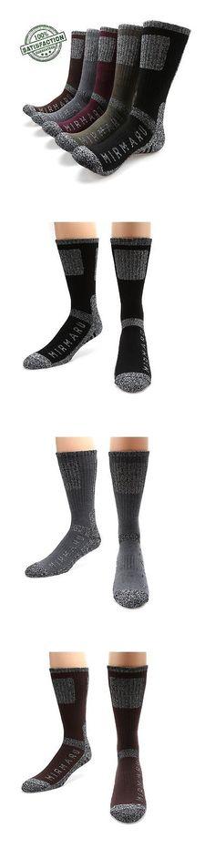 Socks 181362: Mirmaru Men S 5 Pairs Multi Performance Outdoor Sports Hiking Trekking Crew S... -> BUY IT NOW ONLY: $34.22 on eBay!