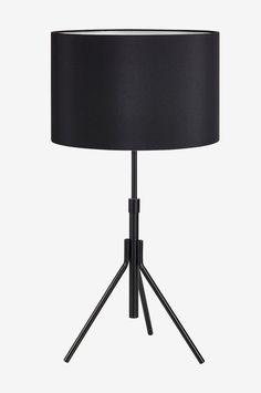 Markslöjd Bordlampe SLING 1L - Svart - Bordlamper - Ellos.no Tripod Lamp, Lighting, Home Decor, Metal, Homemade Home Decor, Lights, Lightning, Decoration Home, Interior Decorating