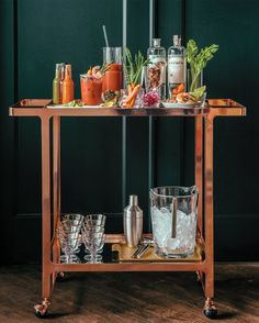 A Bar Cart Built for Summer Brunch | Wayfair