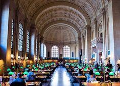 La bibliothèque publique de Boston, Etats-Unis © Creative commons