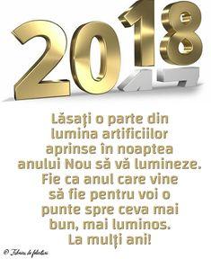 Lăsați o parte din lumina artificiilor aprinse în noaptea anului Nou să vă lumineze. Fie ca anul care vine să fie pentru voi o punte spre ceva mai bun, mai luminos.
