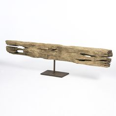 Driftwood Sculpture on Stand | South of Market