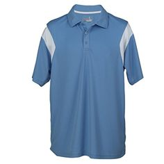 LOFT GOLF Fairway for Men XXLarge Polo Shirt  ColumbiaWhite *** Visit the image link more details. Note:It is Affiliate Link to Amazon.