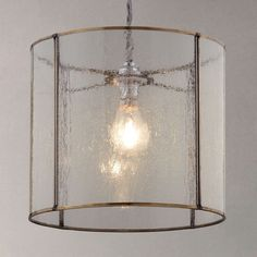 BuyJohn Lewis Easy-to-fit Leighton Bubble Glass Ceiling Shade Online at johnlewis.com