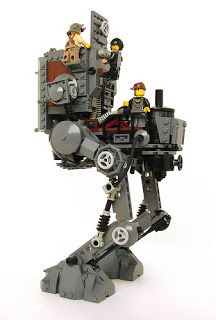Very Cool!!! Lego Star Wars Steampunk | Lego Educational Resource