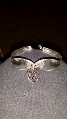 Spoon bracelet with charm