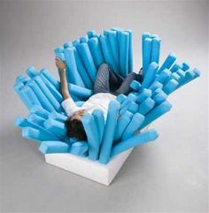 Tooth Brush Sofa? - Ya people are strange!